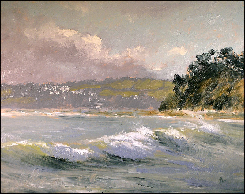 Richard Barry Seaton Towards Looe