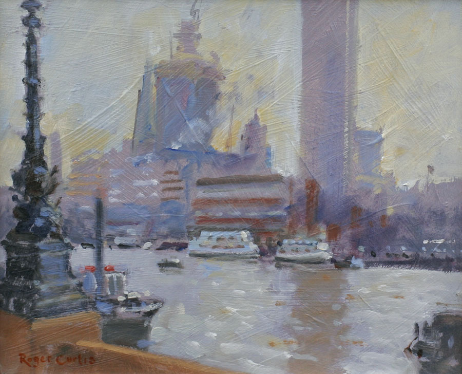 Roger Curtis - Along the Thames