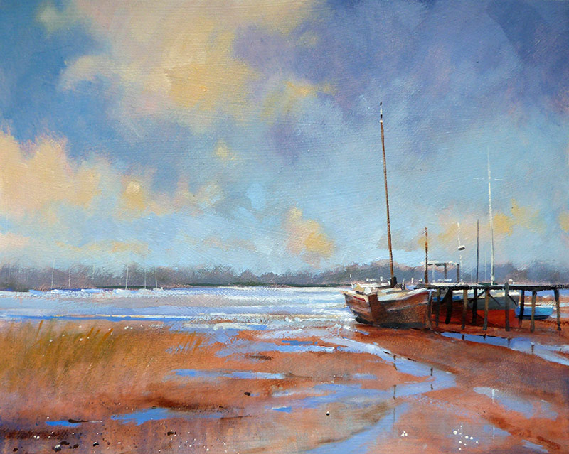 Robert Dudley Low Tide, Pin Mill