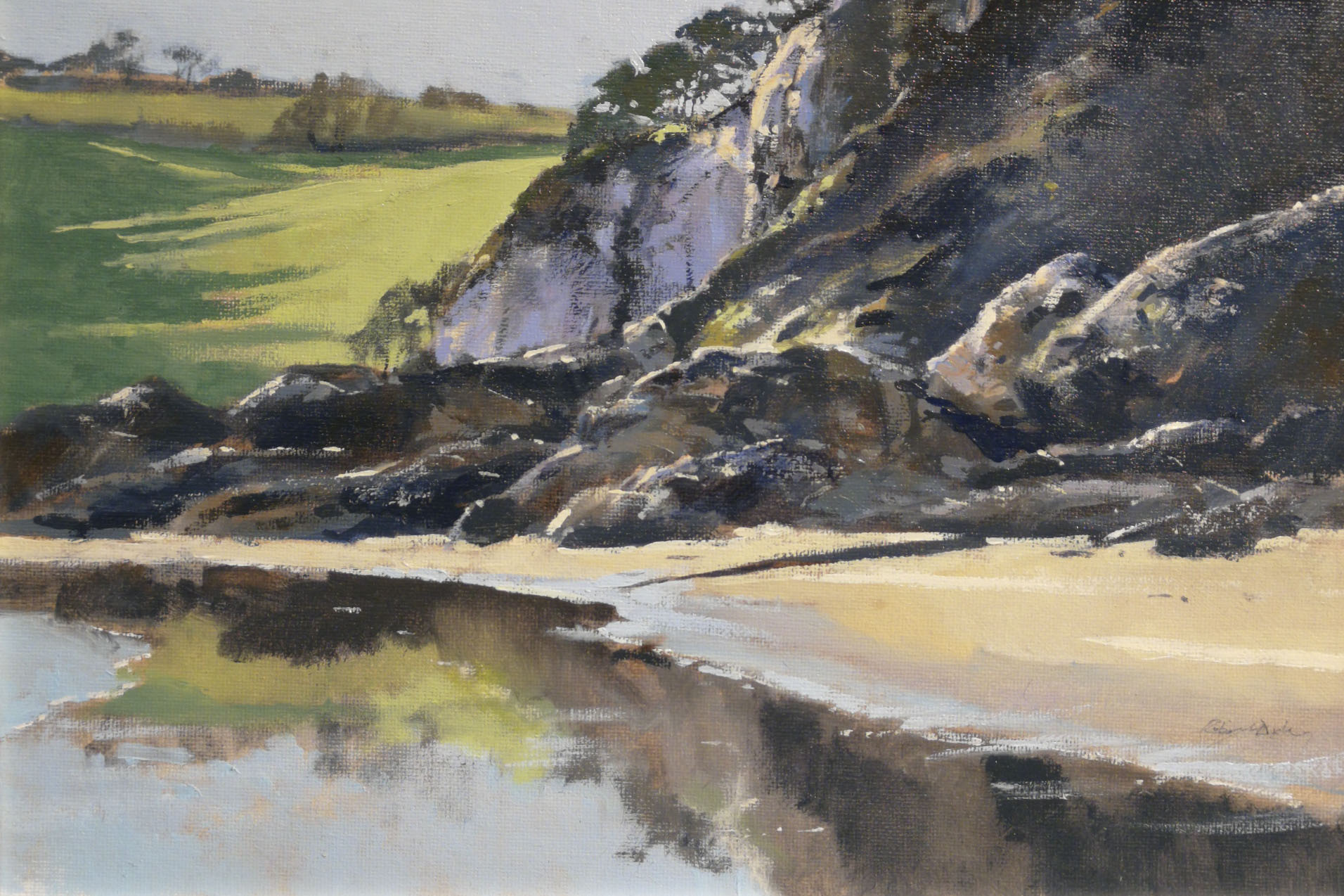 Robert Dudley - Reflections-Mothecombe