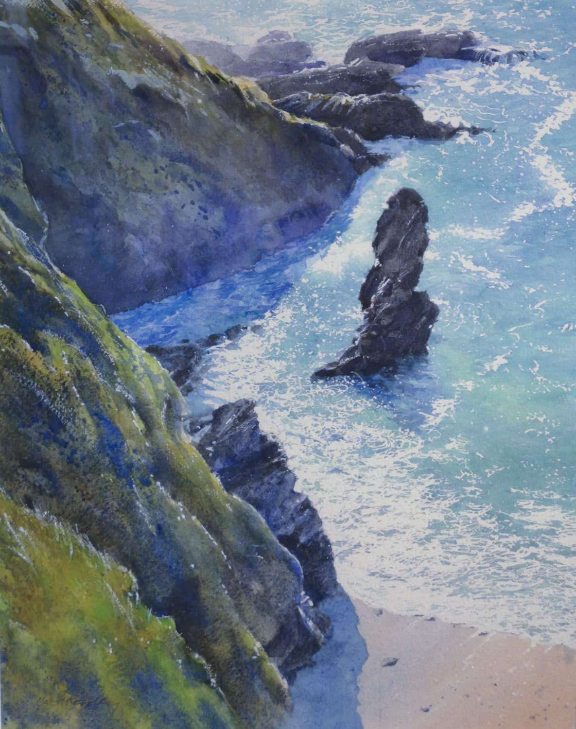 Robert Dudley Sun and Shadows, Battisborough Cove