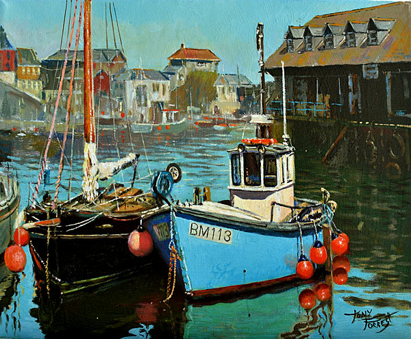 Tony Forrest - Tranquility, Mevagissey