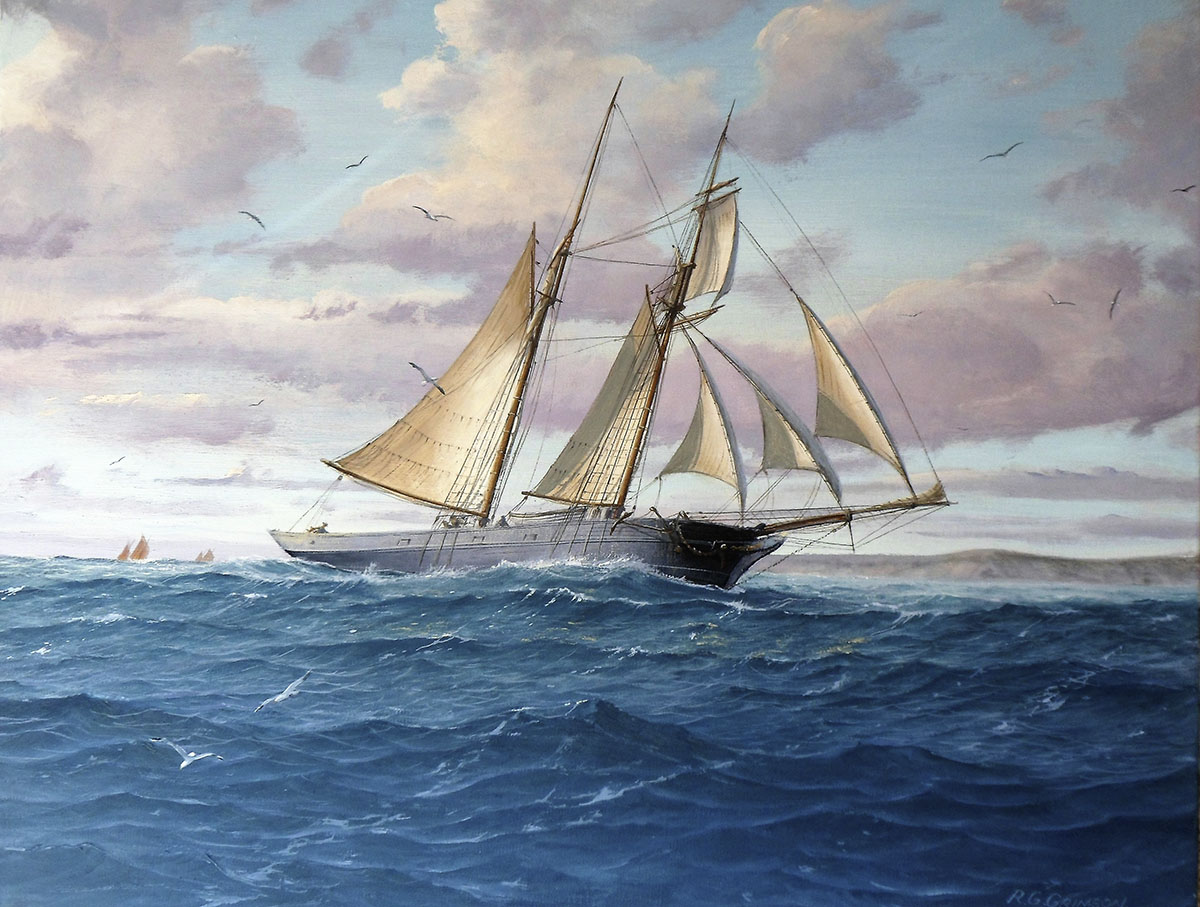 Michael Norman - Towards-White-Island-St-Martins