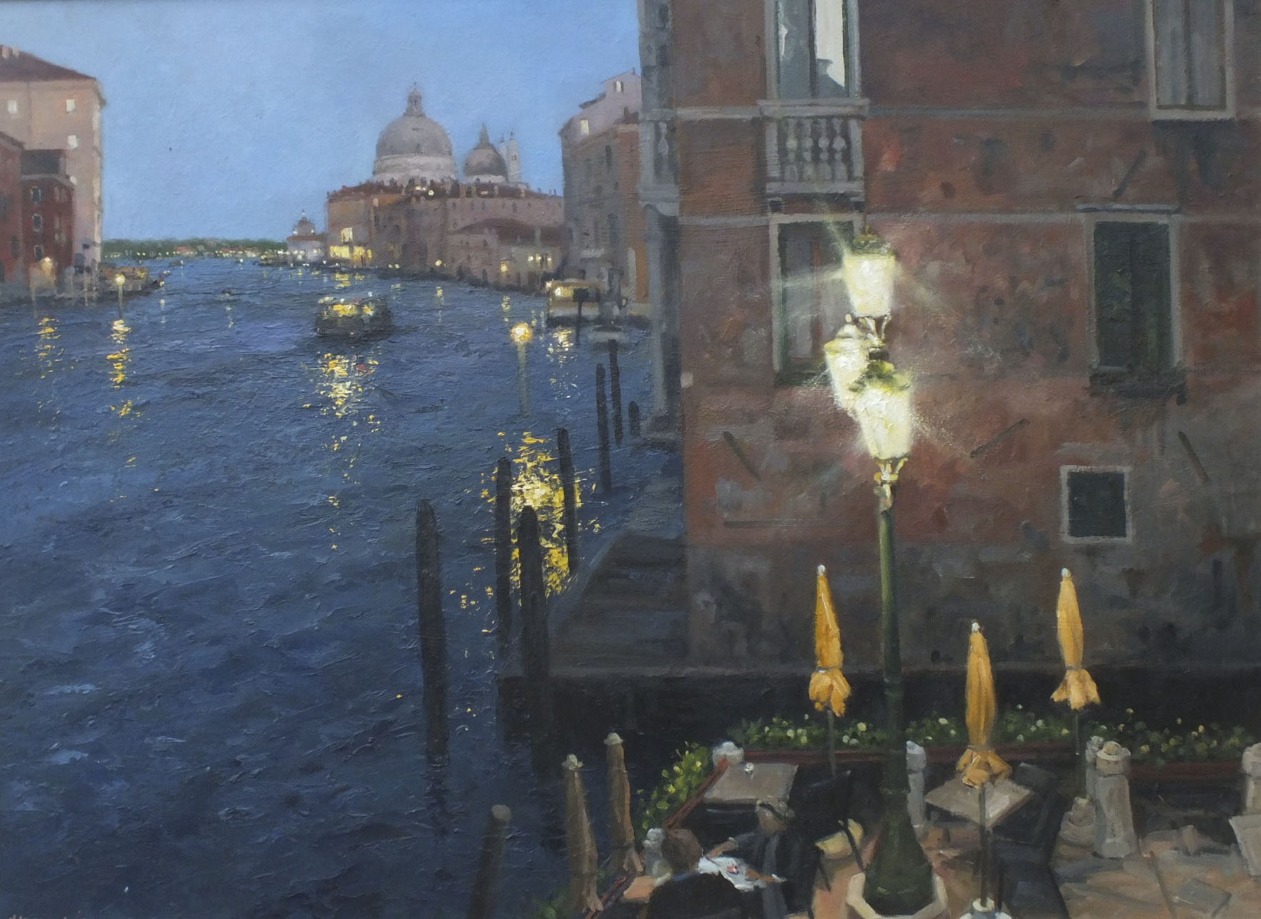 Ian Hargreaves - Darkness Descends over Venice