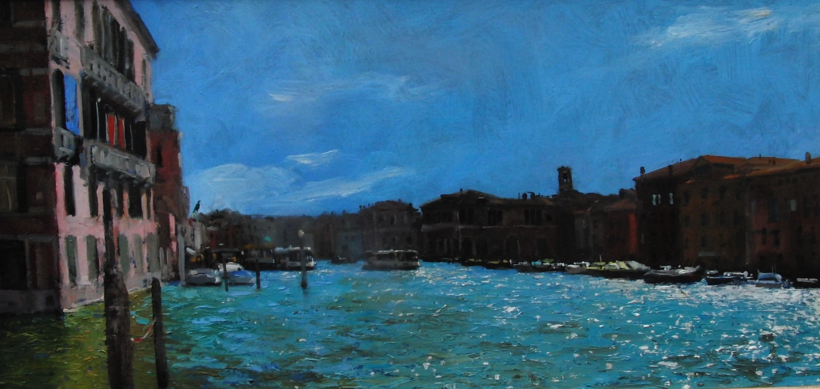 Ian Hargreaves - Sparkle on the Grand Canal