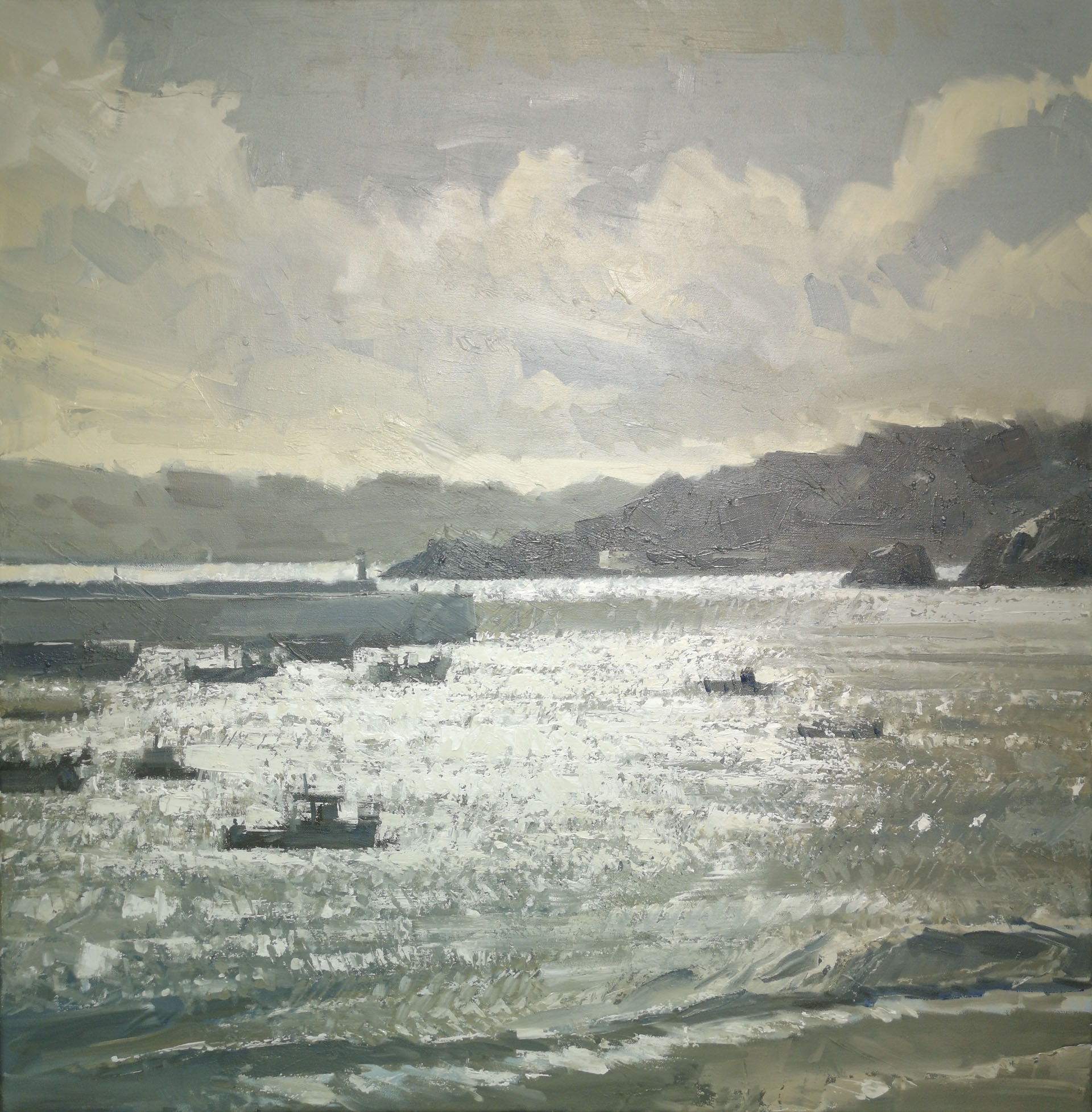 Gary Long - Evening Shimmer, St Ives