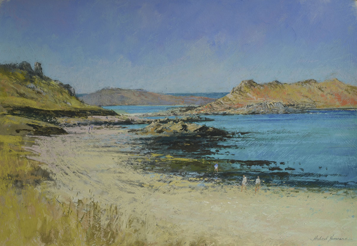 Michael Norman - Towards-White-Island-St-Martins