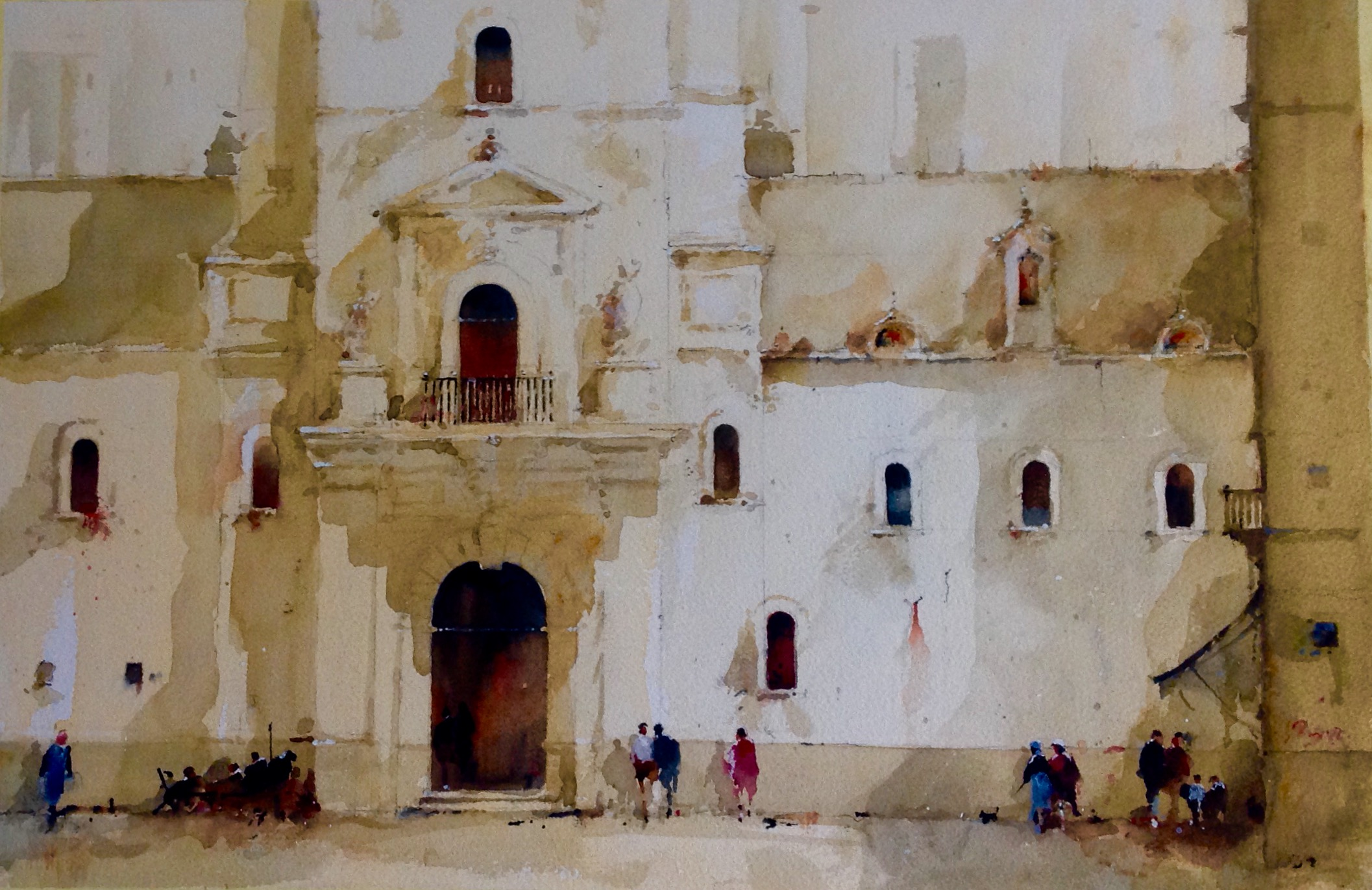 David Norman Sun and Shadows, Cadiz