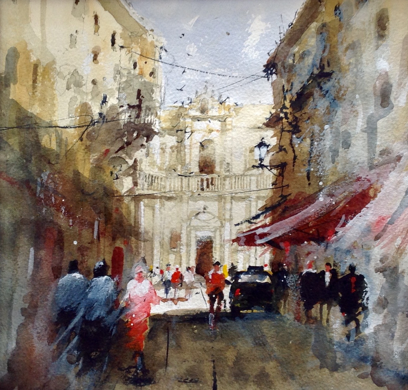 David Norman The Old Quarter, Lecce Cathedral, Italy