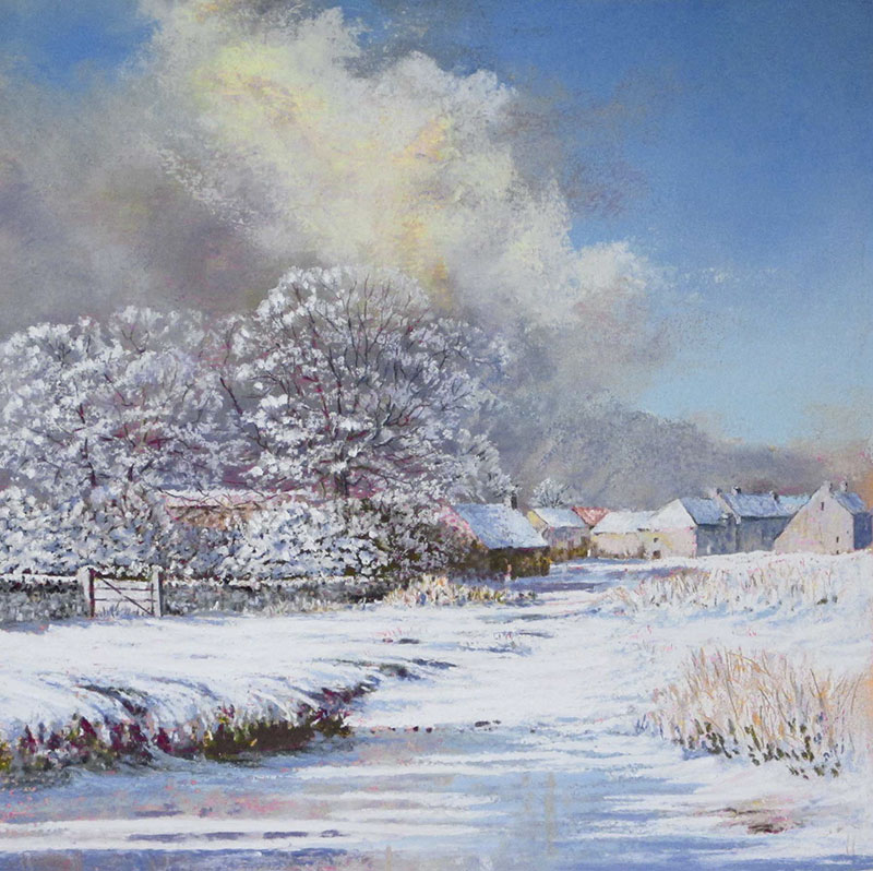 Keith Stott Across the Ford, Winter