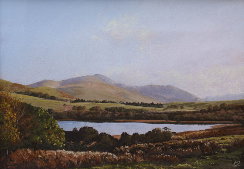 Keith Stott Skiddaw Above Overwater